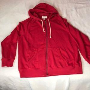 St. Johns Bay zip up hoodie NWOT